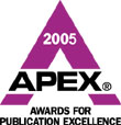 2005 APEX Award for Publication Excellence Logo